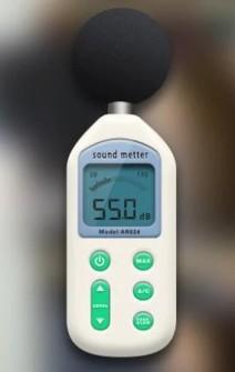 Шум - прибор за измерване